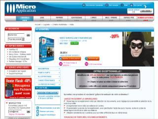 Capture d'écran VIDÉO SURVEILLANCE PAR WEBCAM