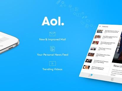 Capture d'écran AOL: Mail, News…Pour Android
