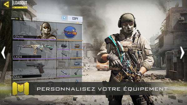 Capture d'écran Call Of Duty : Legends of War Android