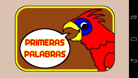 Capture d'écran Mots espagnol librement