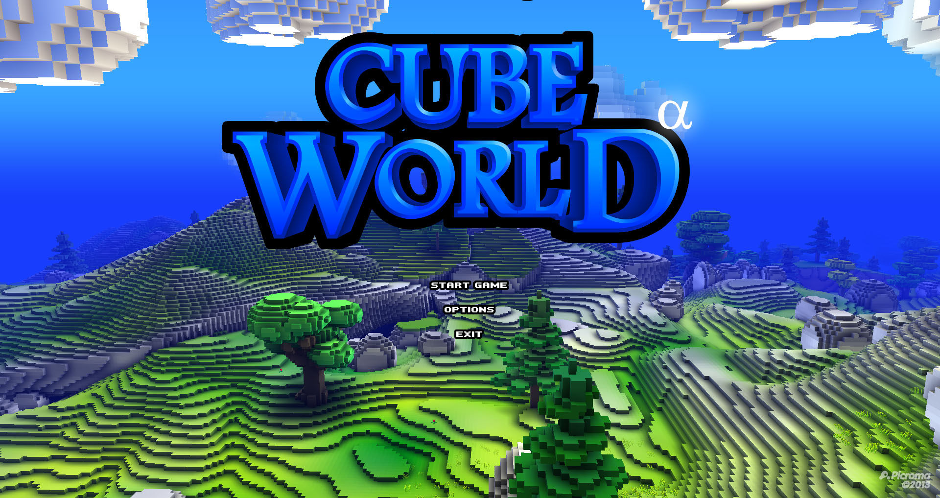 Capture d'écran Cube World