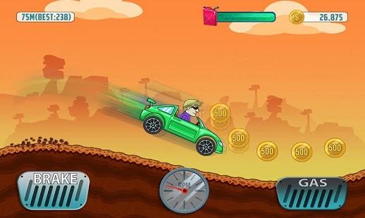 Capture d'écran Cars Hill Climb Race