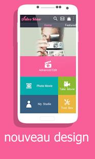 Capture d'écran VideoShowPro: éditeur de vidéo