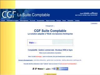 Capture d'écran La Suite Comptable CGF eBusiness