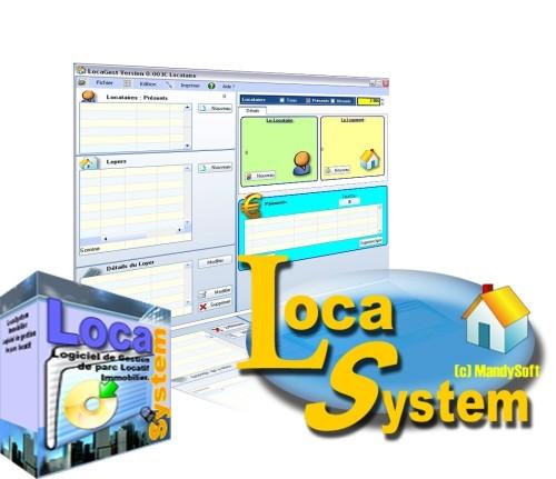 Capture d'écran LocaSystem Immobilier (LS-Immo)