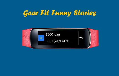 Capture d'écran Gear Fit Funny Stories