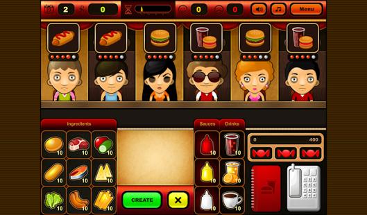 Capture d'écran Fastfood Bar