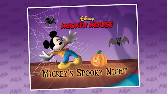 Capture d'écran Mickey's Spooky Night