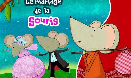 Capture d'écran Le mariage de la Souris