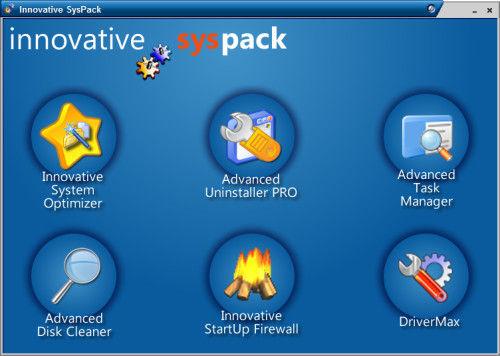 Capture d'écran Innovative SysPack