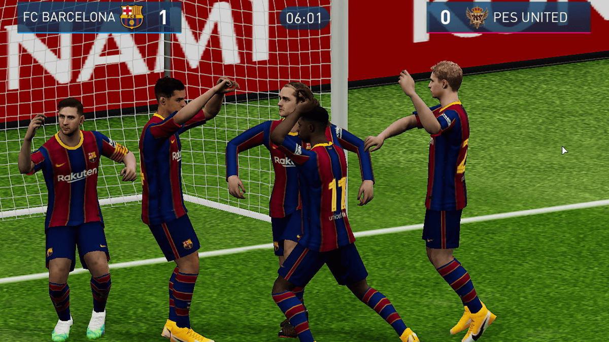 Capture d'écran Konami New Football Project Android