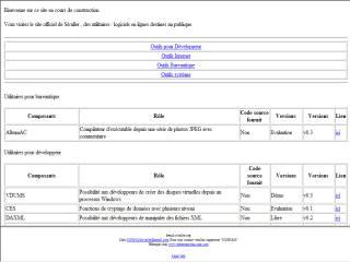 Capture d'écran AlbumAC (sample)