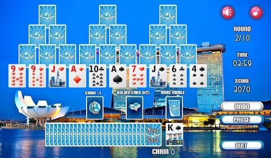 Capture d'écran 3 Tripeaks Solitaire Games