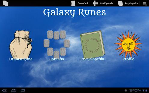 Capture d'écran Galaxy Runes