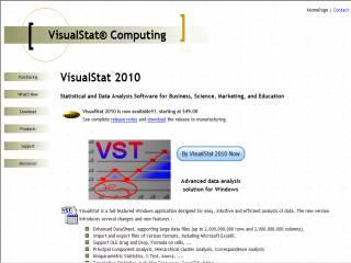 Capture d'écran VisualStat Light