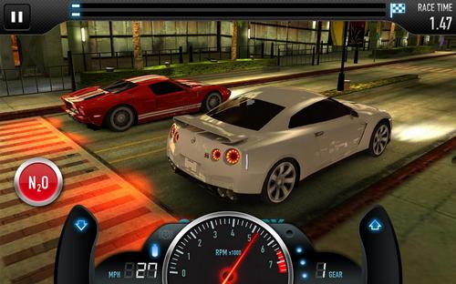 Capture d'écran CSR Racing Android