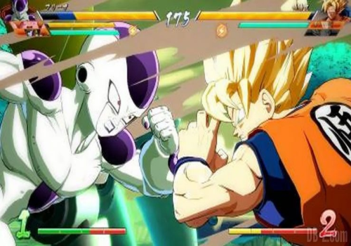Capture d'écran Dragon Ball FighterZ