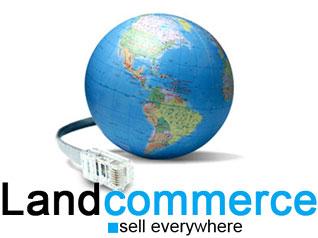 Capture d'écran Landcommerce