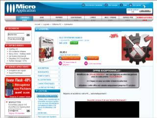 Capture d'écran iolo System Mechanic