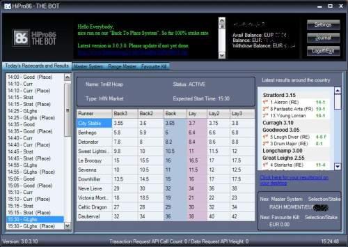 Capture d'écran HiPro86 – THE BOT