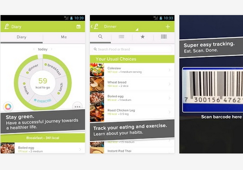 Capture d'écran Lifesum Android
