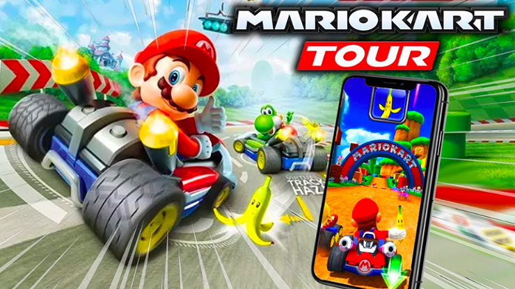 Capture d'écran Mario Kart Tour IOS