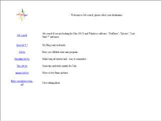 Capture d'écran URL Recherche