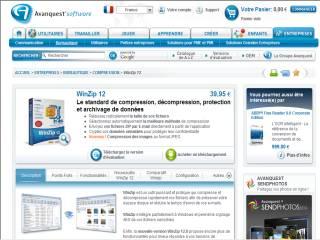 Capture d'écran WinZip 10.0