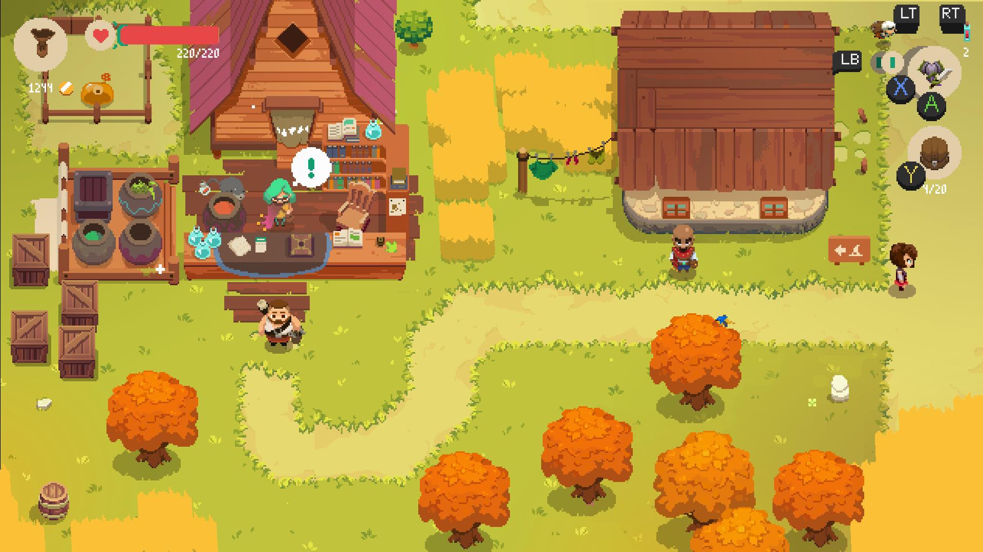 Capture d'écran Moonlighter iOS