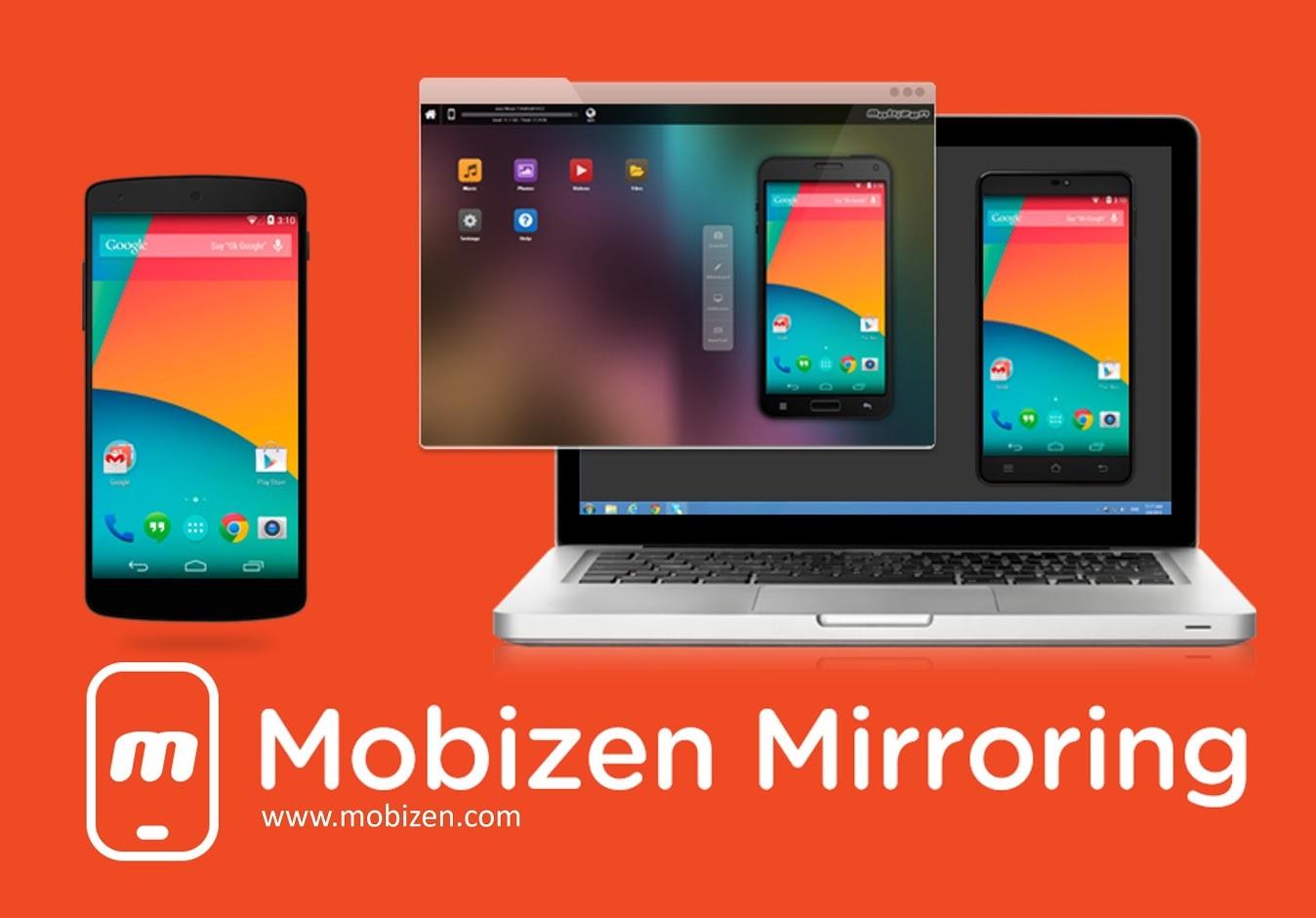 Capture d'écran Mobizen
