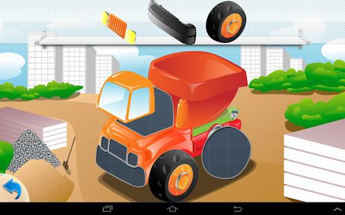 Capture d'écran Puzzle Cars for kids