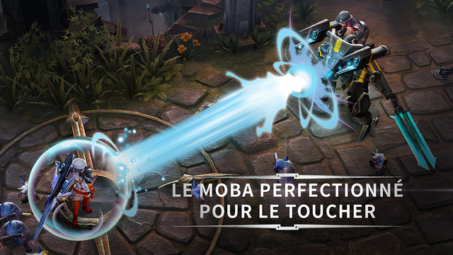 Capture d'écran Vainglory iOS