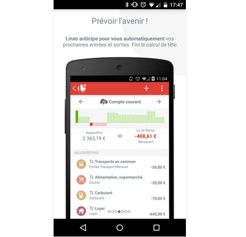 Capture d'écran Linxo – mon budget, ma banque iOS