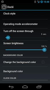 Capture d'écran ClockiFree for SmartWatch