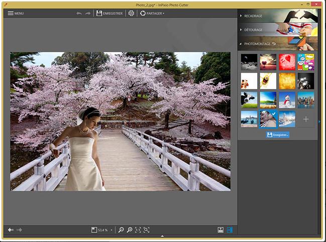 Capture d'écran Inpixio Photo Clip Pro