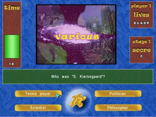Capture d'écran Quizland (Windows)