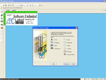 Capture d'écran Labelling Pro
