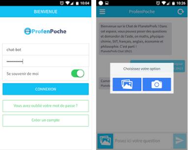 Capture d'écran Prof en Poche Android