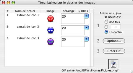 Capture d'écran GIFfun