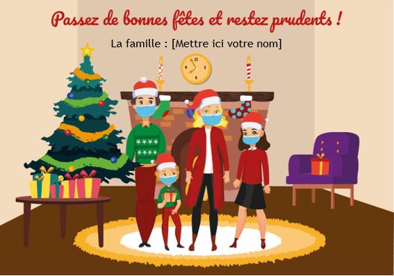 Capture d'écran Cartes de Noël spécial 2020