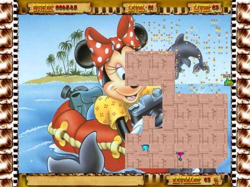 Capture d'écran Cartoon Xonix