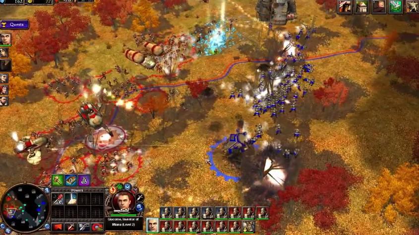 Capture d'écran Rise of Legends