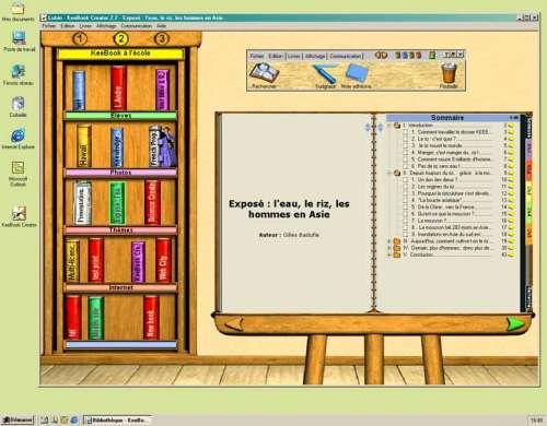 Capture d'écran Keebook Creator Education