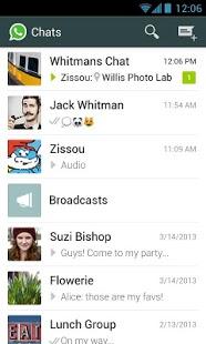 Capture d'écran WhatsApp Messenger