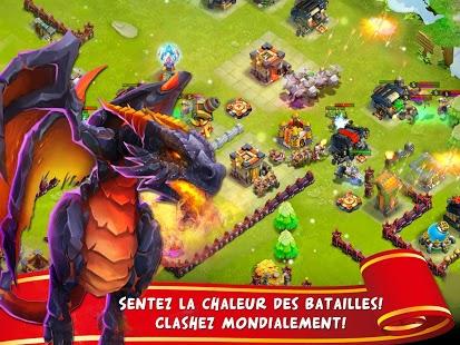 Capture d'écran Clash de Châteaux:Castle Clash