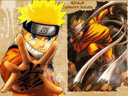 Capture d'écran Free Naruto Screensaver