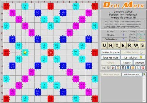 Capture d'écran Ordi Mots