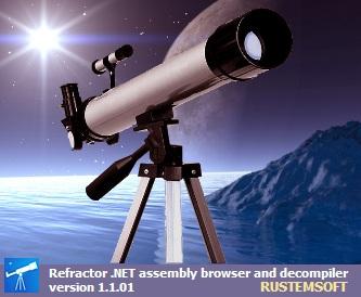 Capture d'écran Refractor freeware .NET Decompiler