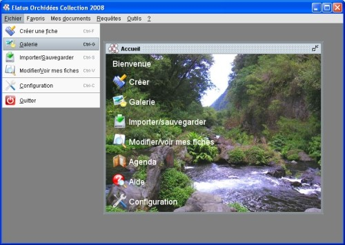 Capture d'écran Elatus Orchidées Collection Trial