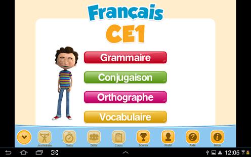 Capture d'écran ExoNathan Français CE1